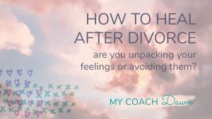 how to heal after divorce